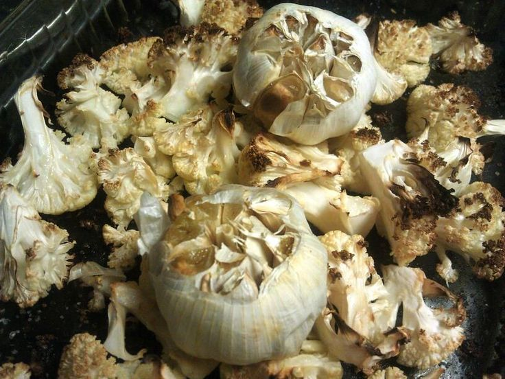 ... – Paleo Recipes – Roasted Garlic Cauliflower Mashed Potatoes