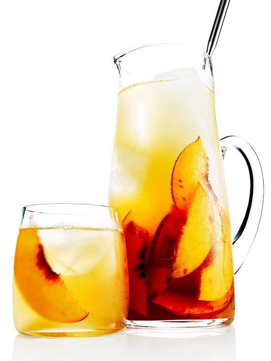 Summer Picnic Menu, COCKTAIL | Bourbon Peach Sweet Tea Punch # ...