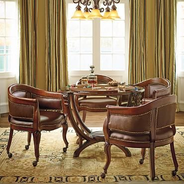 montgomery game table and two chairs basement rec media