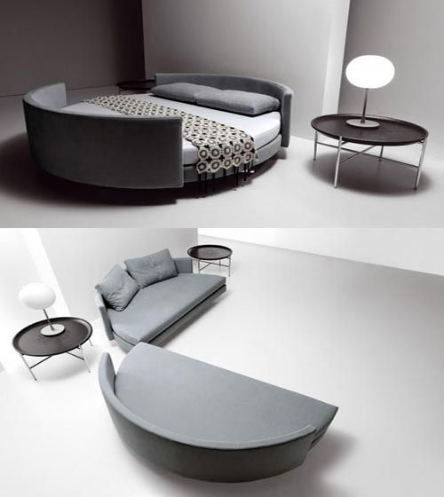 cool bed turns into a couch  Interesting ideas for home  Pinterest