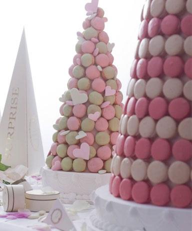 Pièce Montée Macarons #weddingcake #wedding #mariage