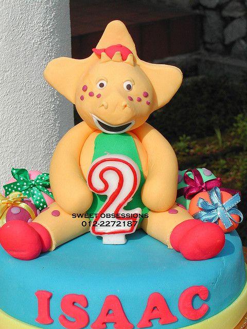 BJ (Barney) Cake