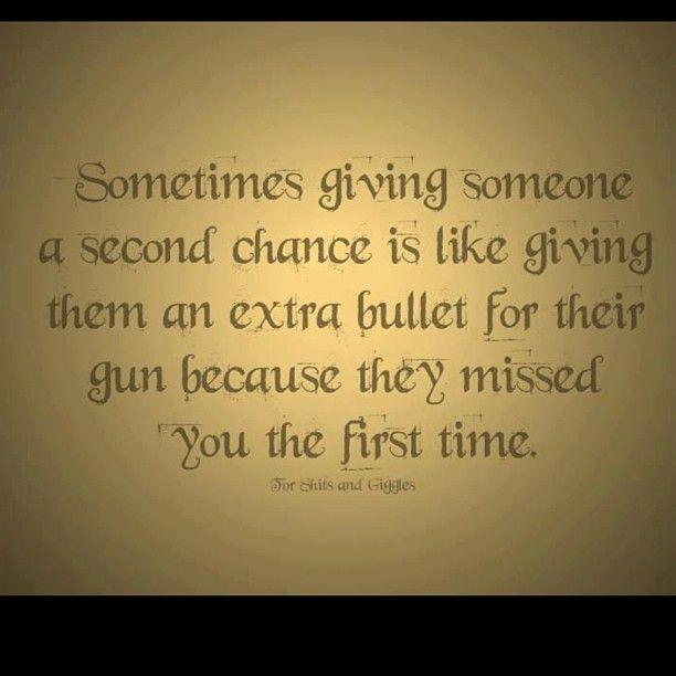 No Second Chances Quotes. QuotesGram