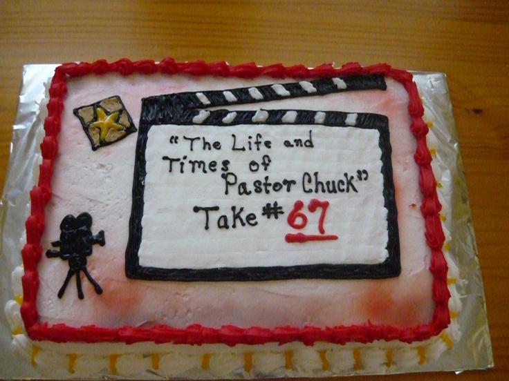 clap board cake