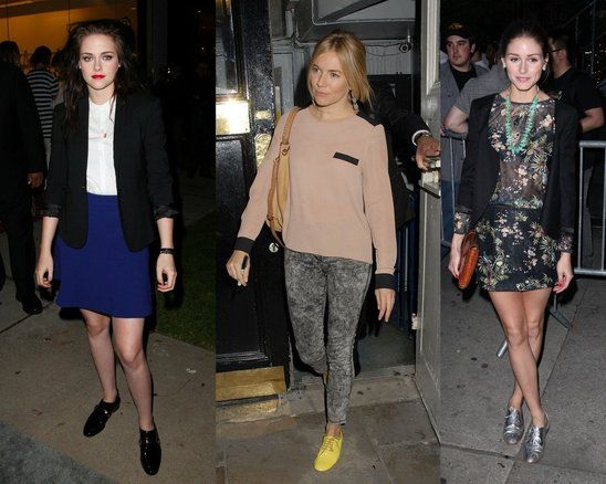 Kristen Stewart, Sienna Miller, and Olivia Palermo all look great in