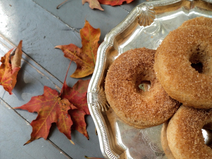 leaves and flours vegan apple cider donuts