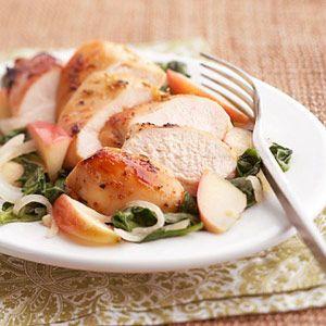 ... thyme - lemon - fresh ginger - chicken - apple - onion - garlic clove
