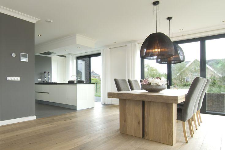 Moderne keuken lampen for Klassiek en modern interieur combineren