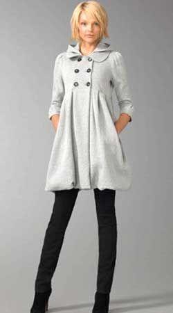 Сшить женское пальто на синтепоне
