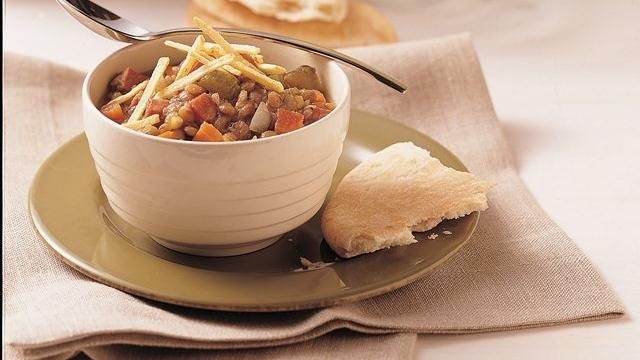 Slow Cooker Ham and Lentil Stew | Soups and Chowders | Pinterest