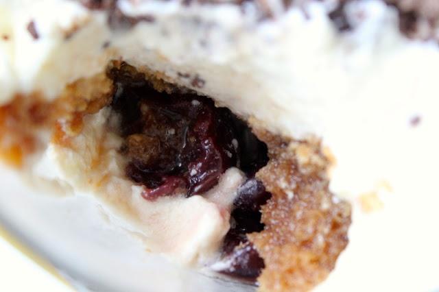 Bourbon-Soaked Cherries Tiramisu | She Eats dot ca | Pinterest