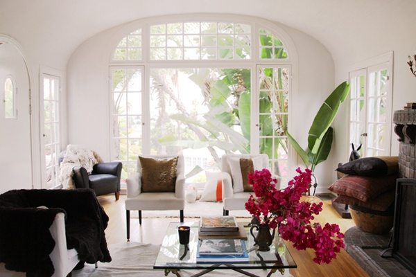 Bright and airy living area