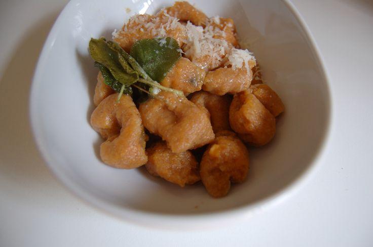 ... living blog with tasty recipes: Whole Wheat Sweet Potato Gnocchi