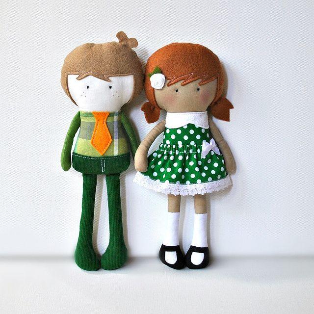 Мой Тини-Крошечный Кукла ™ Стюарт и Данни | Flickr - Compartilhamento СКТВ!