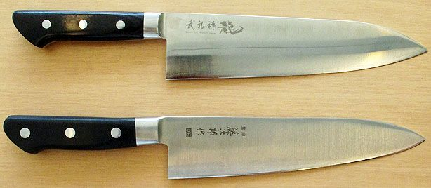 couldn 39 t live without my carbon steel japanese chefs knife heavy