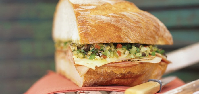 Muffaletta Recipes | Ricardo | Soups, Sandwiches, Hot Dogs & Burgers ...