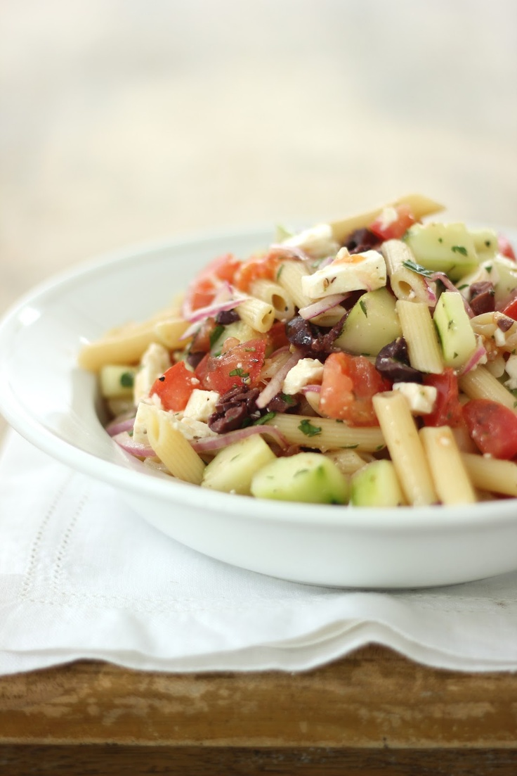 Greek Pasta Salad | eat - salads | Pinterest
