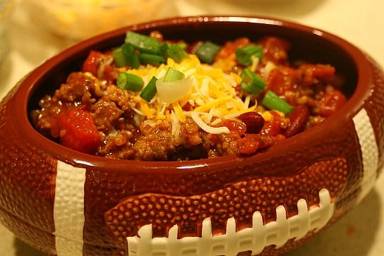 Easy Game Day Chili with Bob Evans Sausage @mamareport (substitute ...