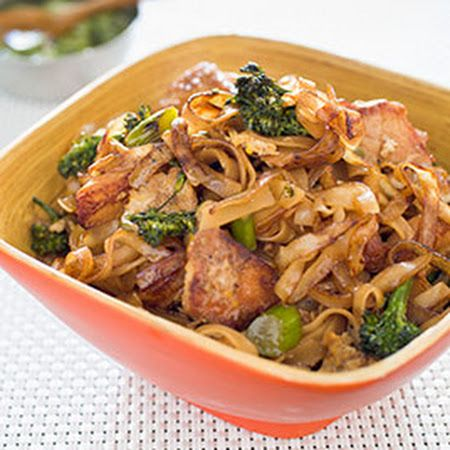Chicken and Broccolini Thai-Style Stir-Fried Noodles from America's ...
