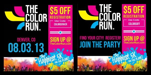 Records of the color run best coupon codes are essential in studying the market dynamics. There should be a clear distinction between the two terms. A promo code is simply a type of a coupon. Consequently, color run best coupon codes is one of the types of coupons that Color Run offers.5/5(2).