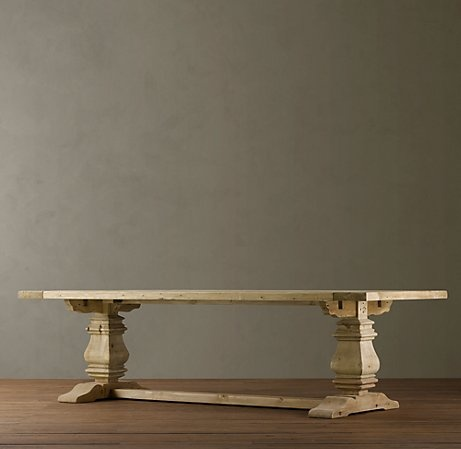 Trestle Table Restoration Hardware Furniture Pinterest