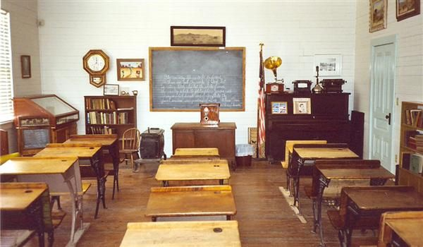Old School Classroom Old School Houses Pinterest