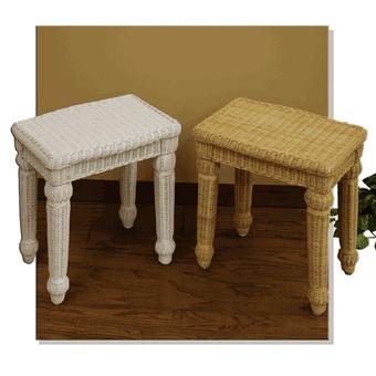 Wicker Bedroom Furniture on Wicker Vanity Bench Via  Wickerparadise       Wicker Bedroom Furniture