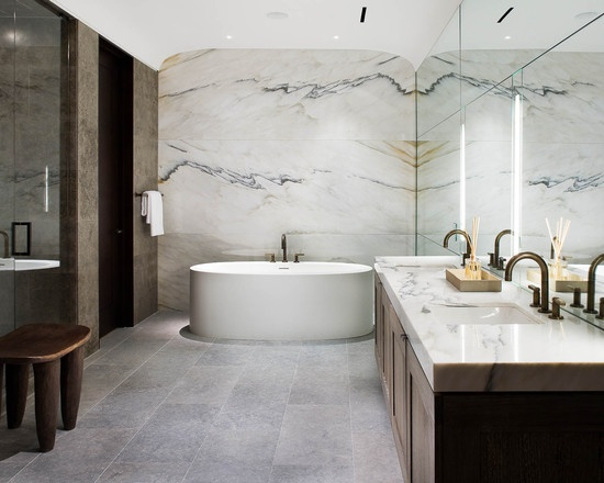 Beautiful Marble Bathroom Home Design Living Pinterest