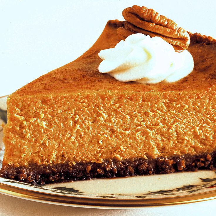 Pumpkin pie and cheesecake lovers will both choose this dessert at ...