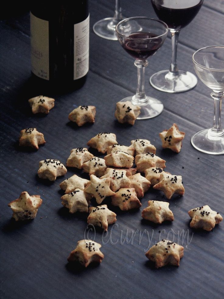 Almond, Nigella & Pepper Cocktail Cookies Recipes — Dishmaps