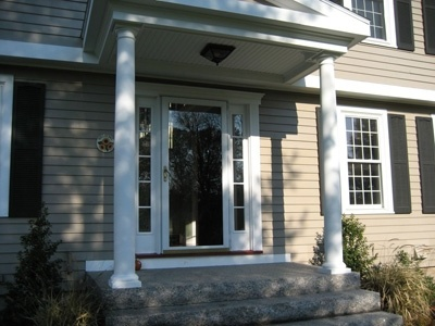 Front Porch Colonial For The Home Pinterest