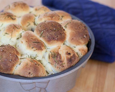 Rosemary Lemon Monkey Bread | LEMON-LICOUS | Pinterest