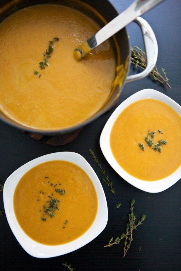 Coconut Curry Butternut Squash Soup | Soups | Pinterest