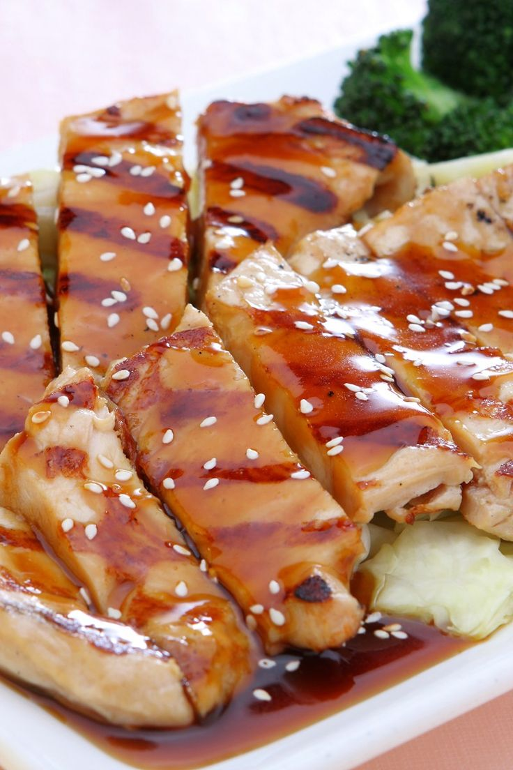 Easy Grilled Chicken Teriyaki Recipe/double sauce reserve half/ grill ...