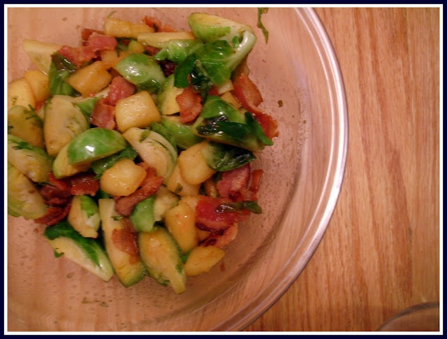 bacon apple Brussels sprouts- gotta try this combo of my favorite ...