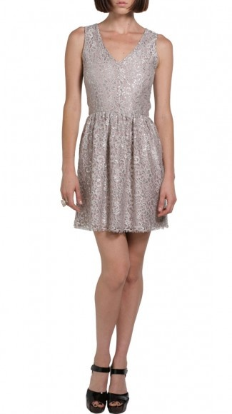 Silver Dress by Eight Sixty