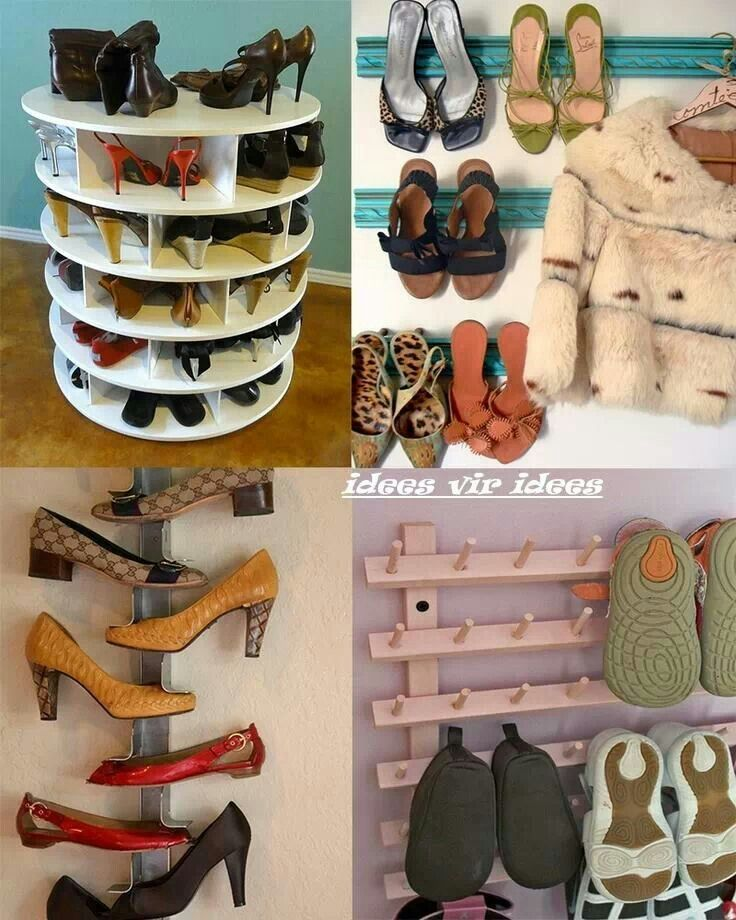 Ideas shoes organizing ideas and storage pinterest - Ideas for organizing shoes ...