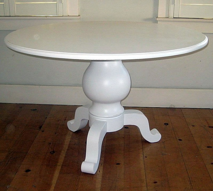 Farmhouse Pedestal Table CC Dining