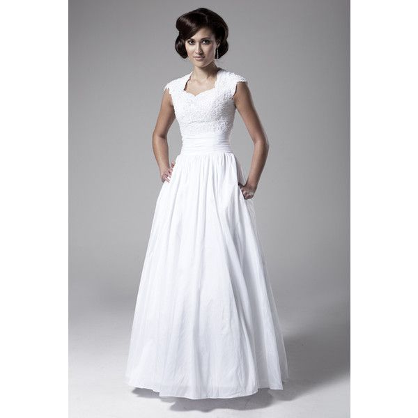 the market for a modest wedding dress in utah dressed in white has