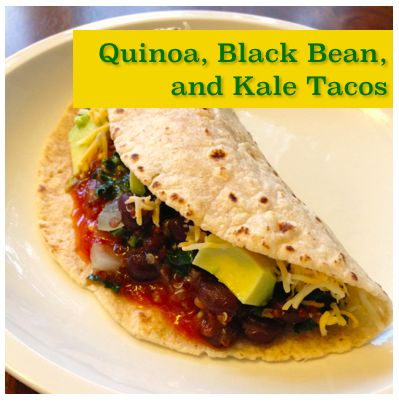 My Emiline. Living. Kids. Crafts.: Quinoa, Black Bean, and Kale Tacos