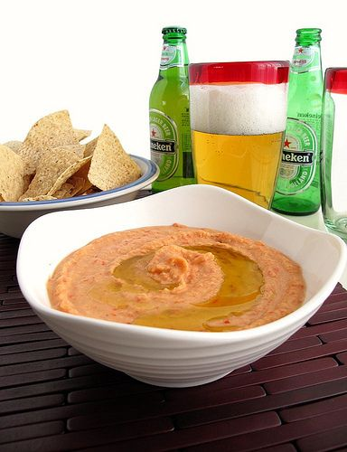 White Bean and Roasted Red Pepper Dip | Food, Glorious Food.... | Pin ...