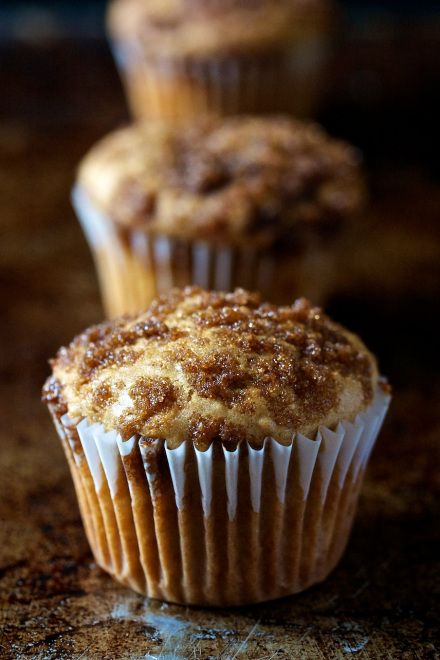 Rhubarb Muffins ~ This recipe was good. Very sweet though, a better ...