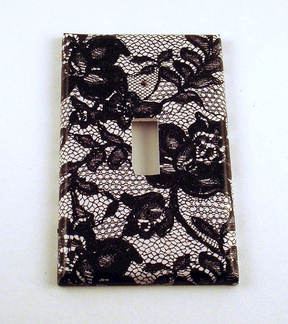 Decorative Wall Light Covers : Light switch cover wall decor switchplate plate in