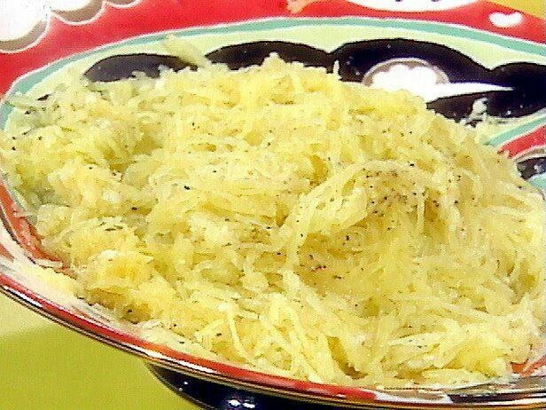 Cheese and pepper spaghetti squash | Recipes | Pinterest