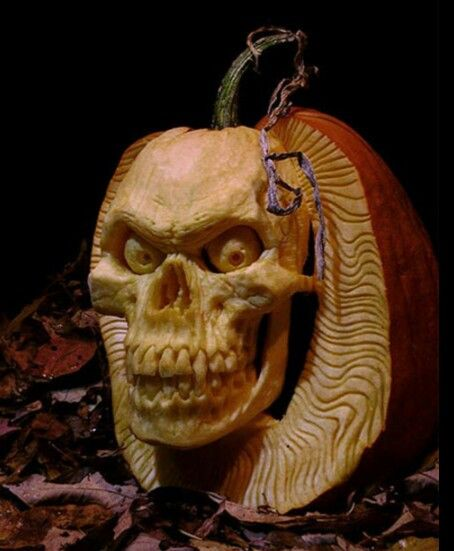 Awesome pumpkin carving amazing 3d art pinterest Awesome pumpkin drawings