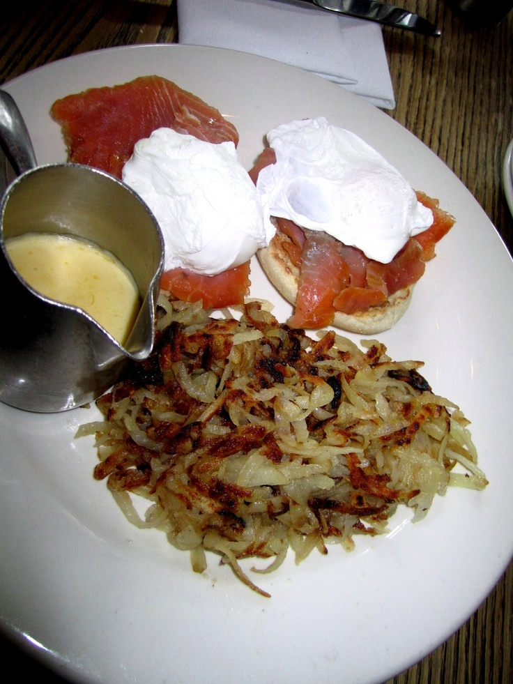 Eggs Norwegian from Landmarc in NYC! | yumm....FOOD!! | Pinterest