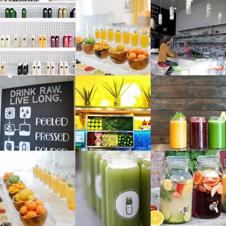 Design inspiration juice bar juice bar inspirations pinterest