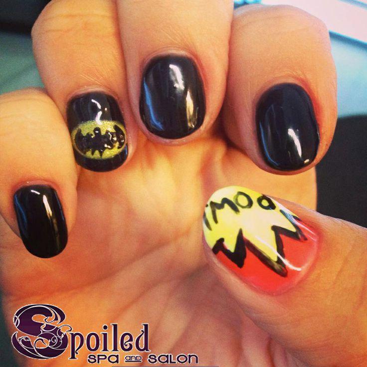 Spa and Salon in Vancouver, WA. #nails #manicure #batman #spoiled #