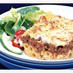 Pastitsio a famous Greek Lasagna.