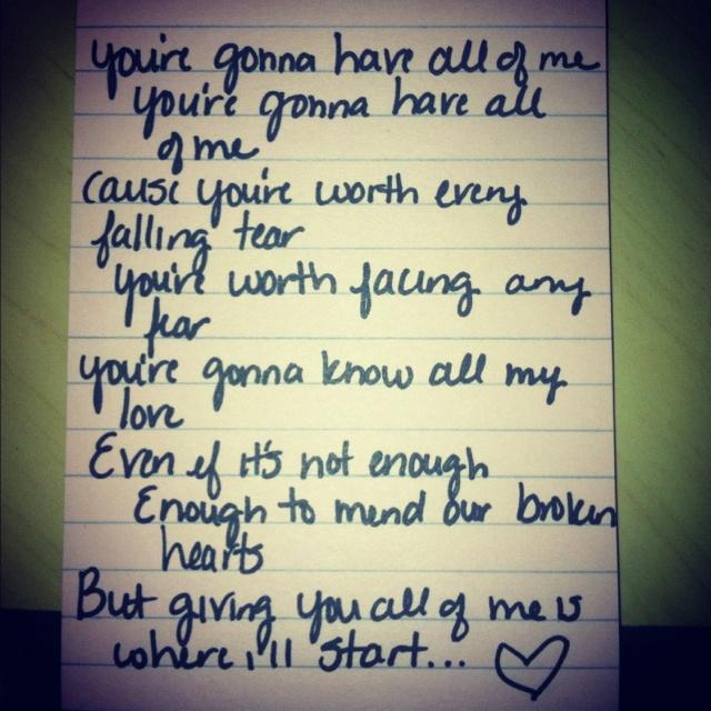 friendship song lyrics: